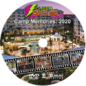 "CheerSurge 2020 ""Camp Memories"" Slideshow DVD"